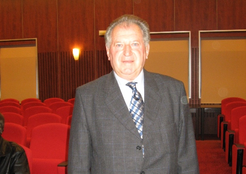 President of the chess federation of Croatia, Stjepan Surlan