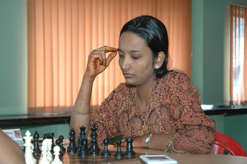 Woman Grandmaster Meenakshi Subbaraman