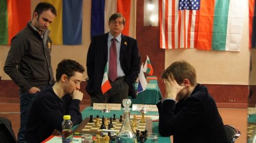 Fabiano Caruana - Nikita Vitiugov