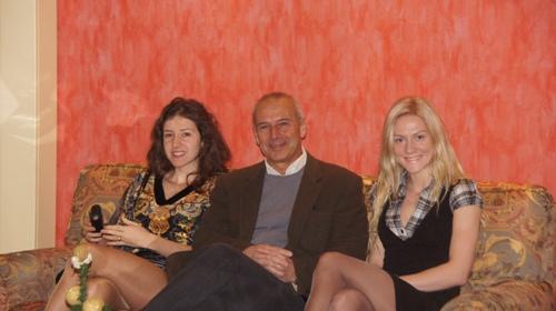 Iva Videnova, Ferraroni (organizer) and Anna Sharevich