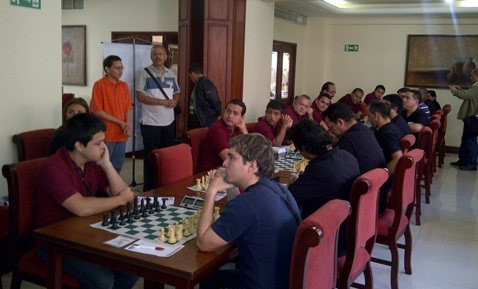 Match Venezuela Cuba playing hall