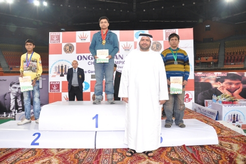 Medal Winners of Under-15 Open Section