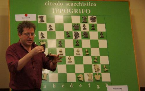 Official Commentator IM Guilio Borgo