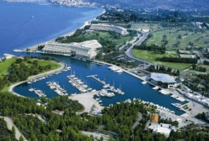 Porto Carras aerial view