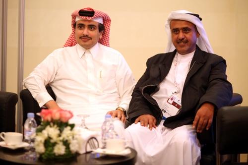 Sheikh Saoud Bin Khaled Al-Thani and Khalifa Mohammed Al-Hitmi