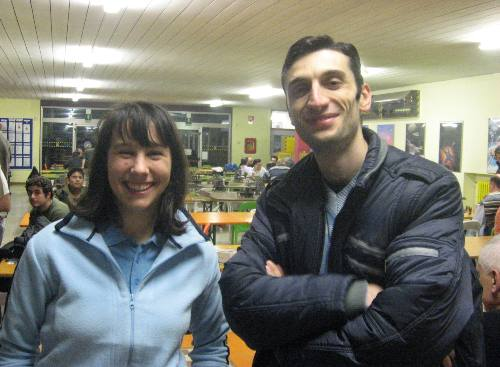WIM Marina Brunello and GM Baadur Jobava