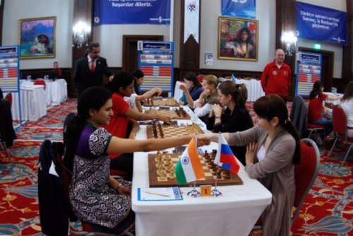 Women World Team Chess Championship 2011, Mardin, Turkey