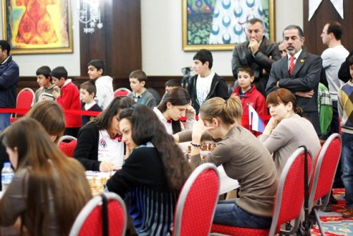 Women World Team Chess Championship, Mardin, Turkey