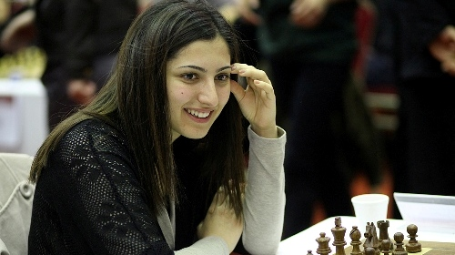 Current Turkish Champion Betul Yildiz