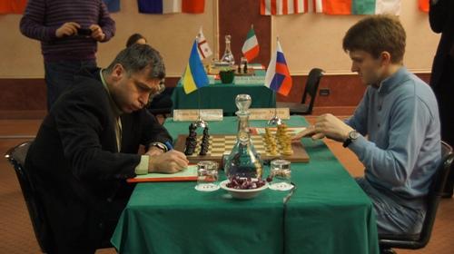 Vassily Ivanchuk and Nikita Vitiugov