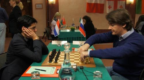 Anish Giri and Alexander Morozevich