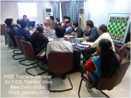 FIDE Trainers Seminar New Delhi