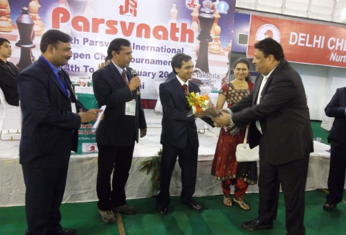 Felicitation of Sasikiran & Humpy
