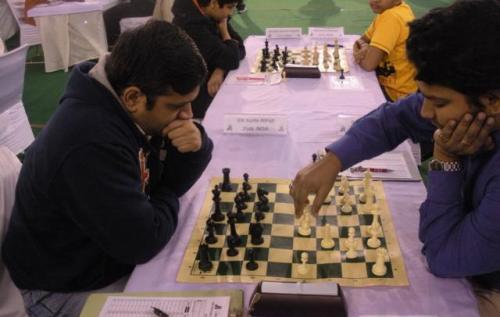 GM Abhijit Kunte and IM Saptarshi Roy