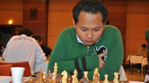 GM Mark Paragua of Philippines