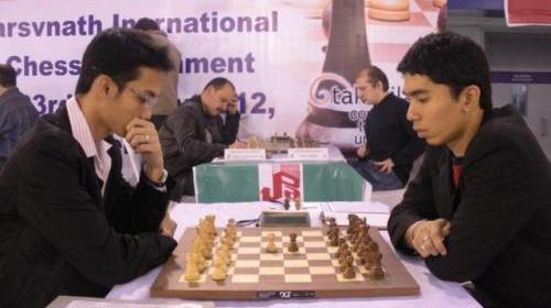 GM Oliver Barbosa and GM Gomez John Paul
