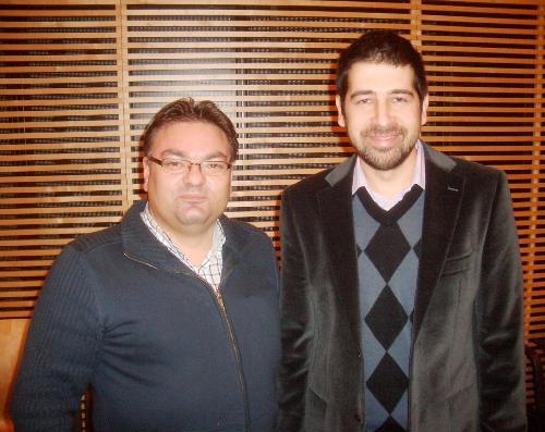 GM Slavko Cicak and GM Dragan Solak