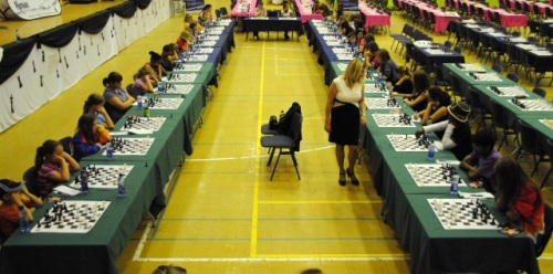 Susan Polgar South Africa simul