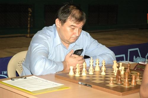 Top seed Grandmaster Aleksej Aleksandrov