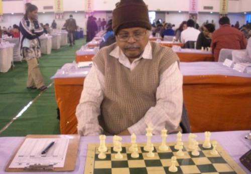 Veteran International Master Shekhar Sahu