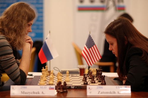 ACP Women Cup - Anna Muzychuk and Anna Zatonskih