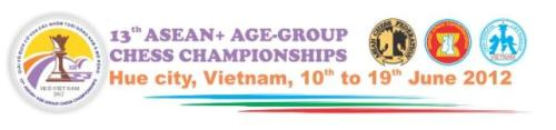 Asean age chess championships 2012