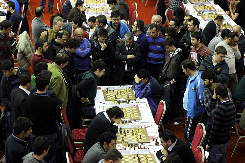 Dragan Solak against Ege Koksal in the last round