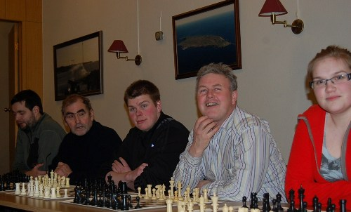 Chess in Grimsey, Iceland