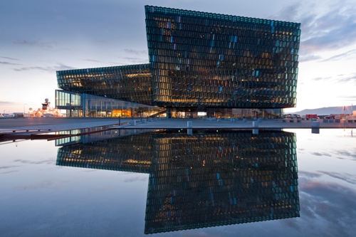 Harpa - the playing venue of Reykjavik Open