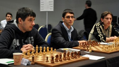 Grandmasters Lupulescu, Parligras and Vajda