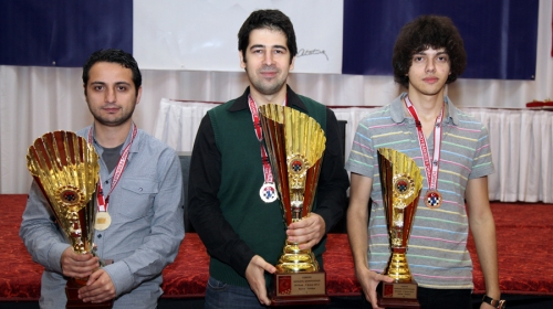Medallists of Turkish Championship