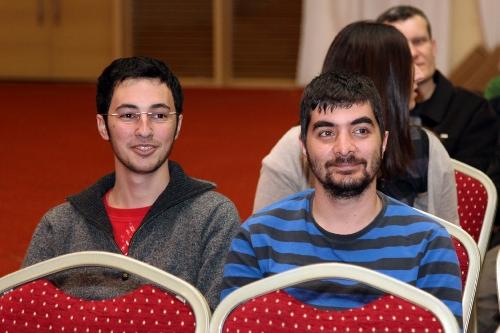 Previous Champion Emre Can and Kivanc Haznedaroglu