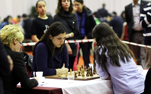 Tie-break between Kubra Ozturk and Betul Yildiz