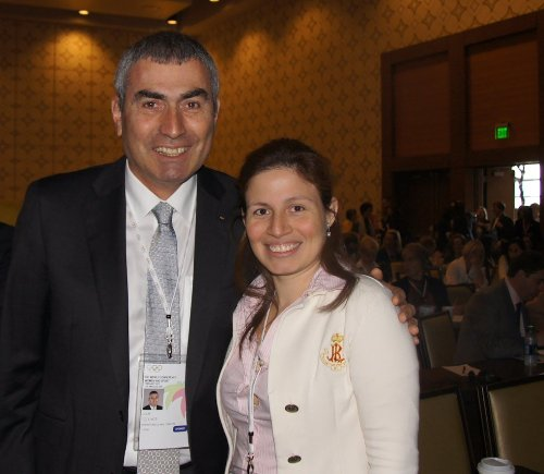 Dr. Ugur Erdener, President Olympic Committee of Turkey