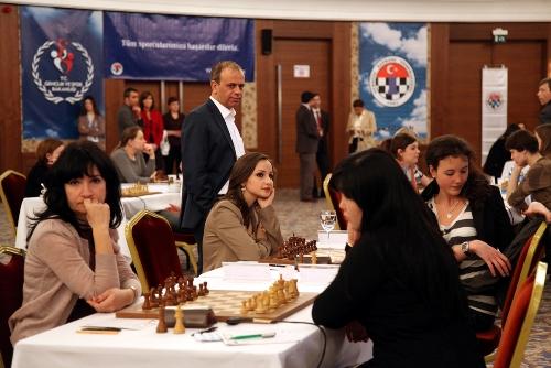 European Individual Women Chess Championship 1