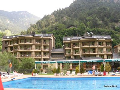 Hotel Sant Gothard swimming pool