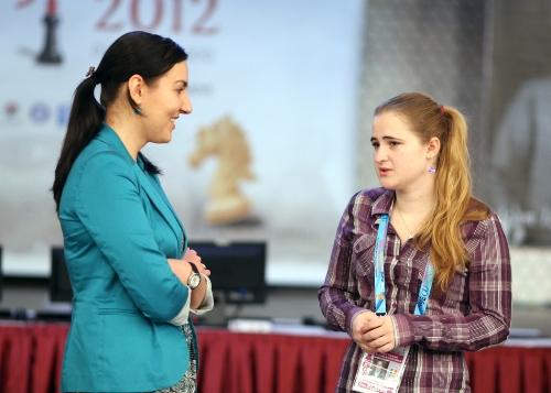 Irina Bulmaga and Mihaela-Veronica Foisor