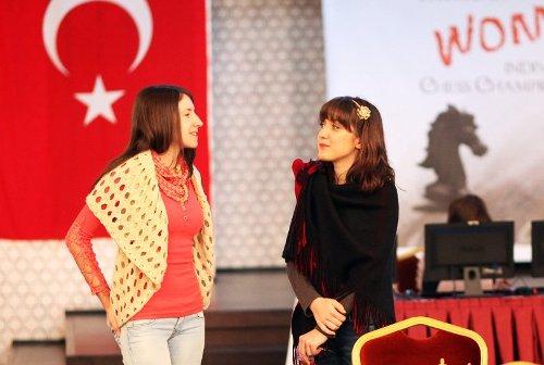 Iva Videnova and Jovana Vojinovic