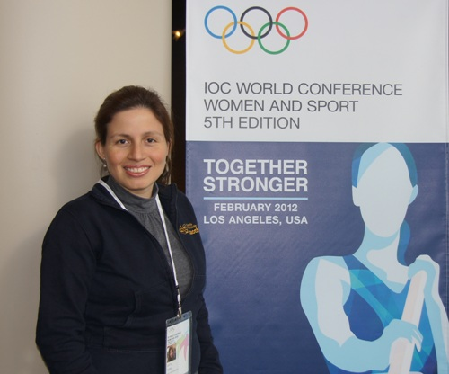 Martha Fierro represented FIDE WOM Commission