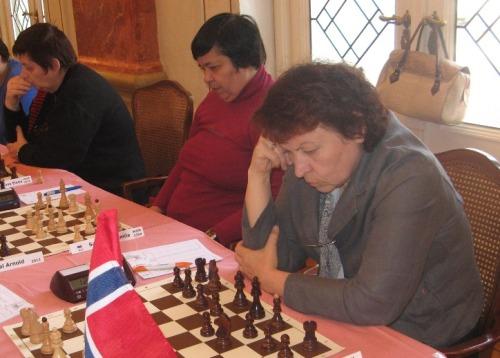 European Senior Teams Championship 2012 - Russia 2