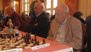 European Senior Teams Championship 2012 - Switzerland with Korchnoi