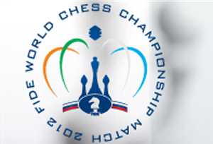 Anand Gelfand official logo of WCC 2012