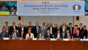2nd quarter FIDE Presidential Board meeting in Elista