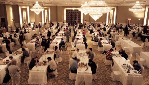 Bangkok Open 2012 playing hall