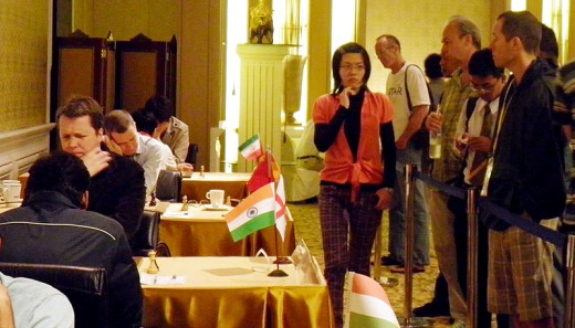 Bangkok Open round 6