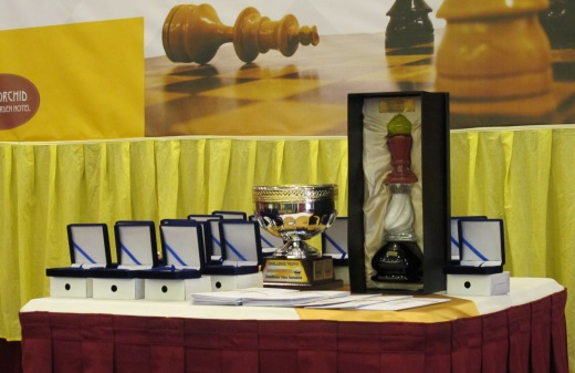 Brunei Campomanes Memorial - Trophies