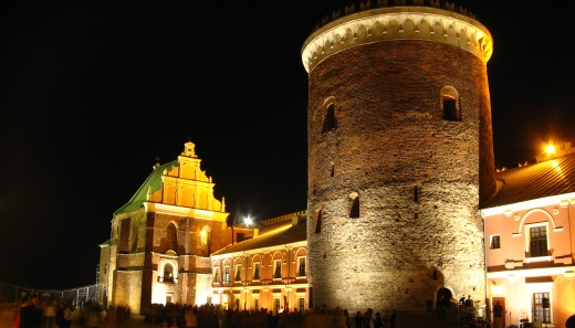Courtyard of the Lublin Castle