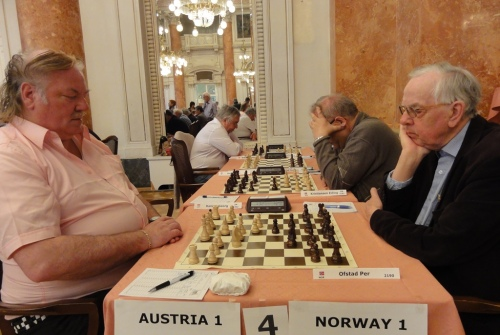 IM Georg Danner from Austria and Per Ofstad from Norway
