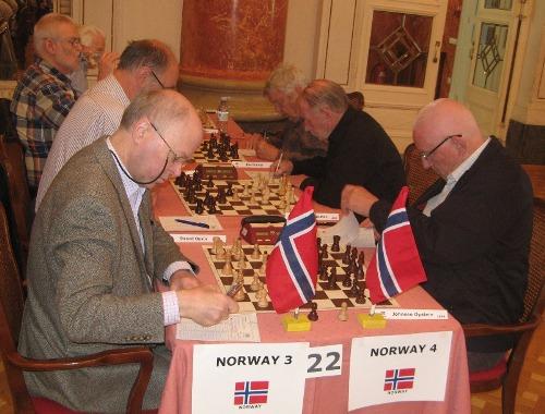 The local derby between two Norwegian teams