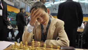 David Navara won his game in 20 moves